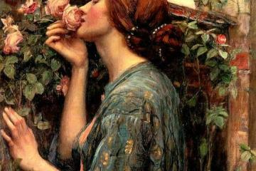 The Soul of the Rose John William Waterhouse - Arte prerrafaelita | Mis obras favoritas #1
