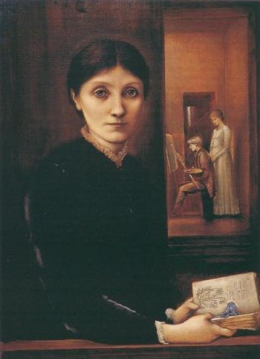 Las mujeres de la hermandad prerrafaelita: Georgiana Burne-Jones.