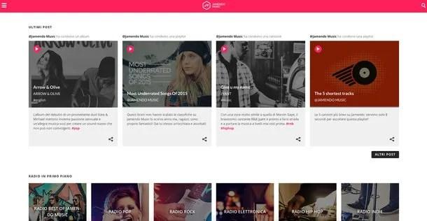 Сайты для прослушивания музыки