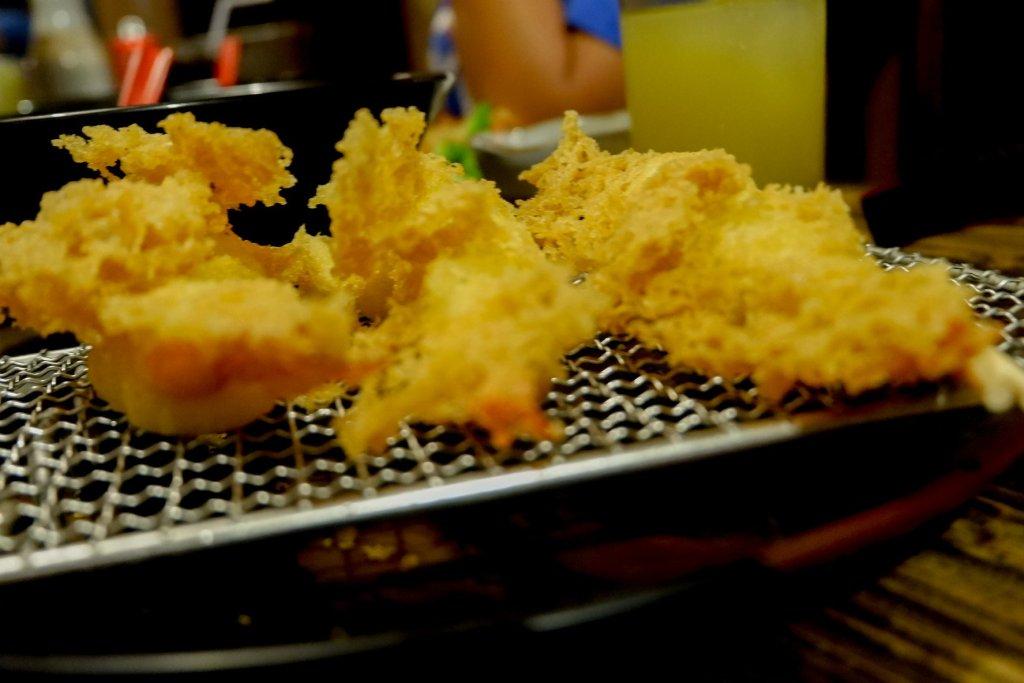 "ALT=""shrimp tempura to try at ramen gyoza"""