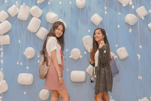 """ALT=""""marshmallows room with my best friend"""""""