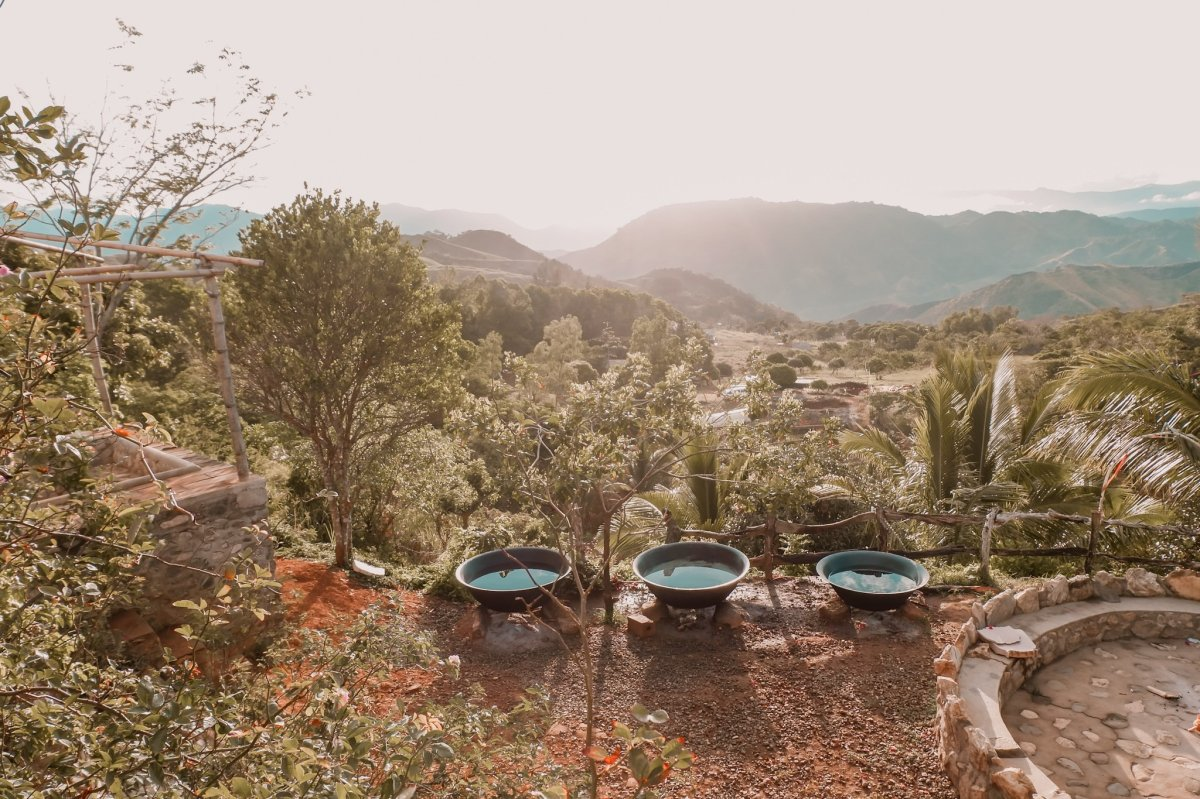 """ALT=""""the kawa hot bath with this kind of view is so refreshing"""""""
