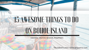 15 Awesome Things to do in Bohol Island