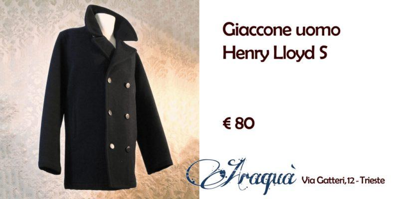 Giaccone uomo Henry Lloyd S - € 80