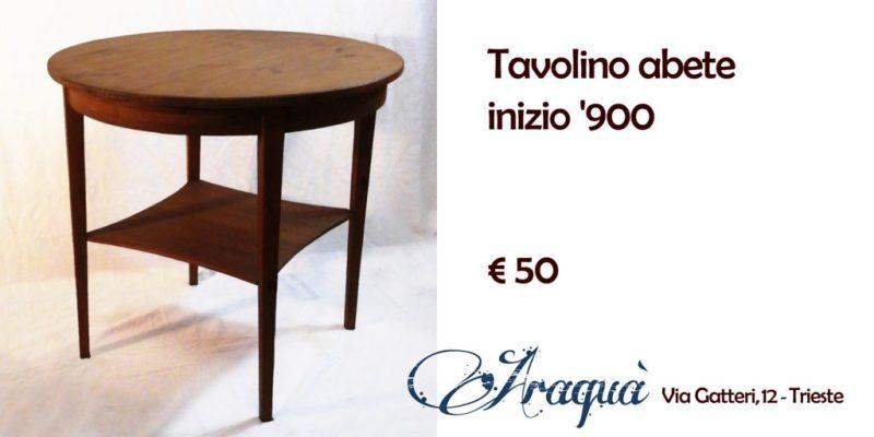 Tavolino abete inizio '900 - € 50