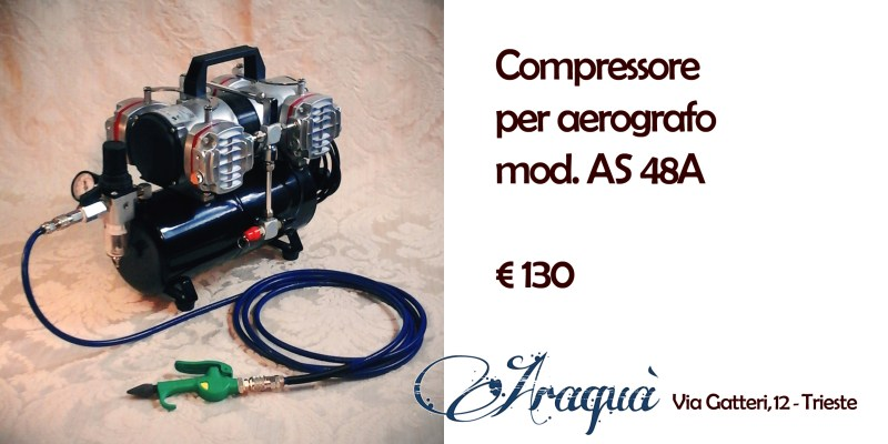 Compressore per aerografo mod. AS 48A - € 130