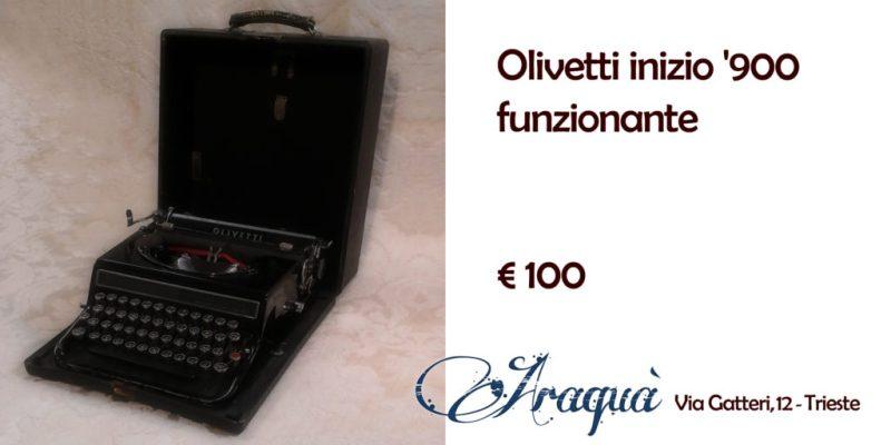 Olivetti inizio '900 funzionanti - € 100