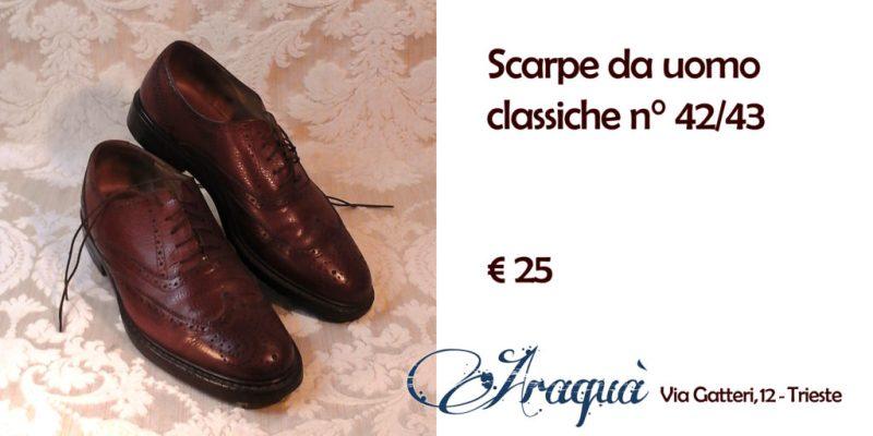Scarpe da uomo classiche n° 42/43 € 25