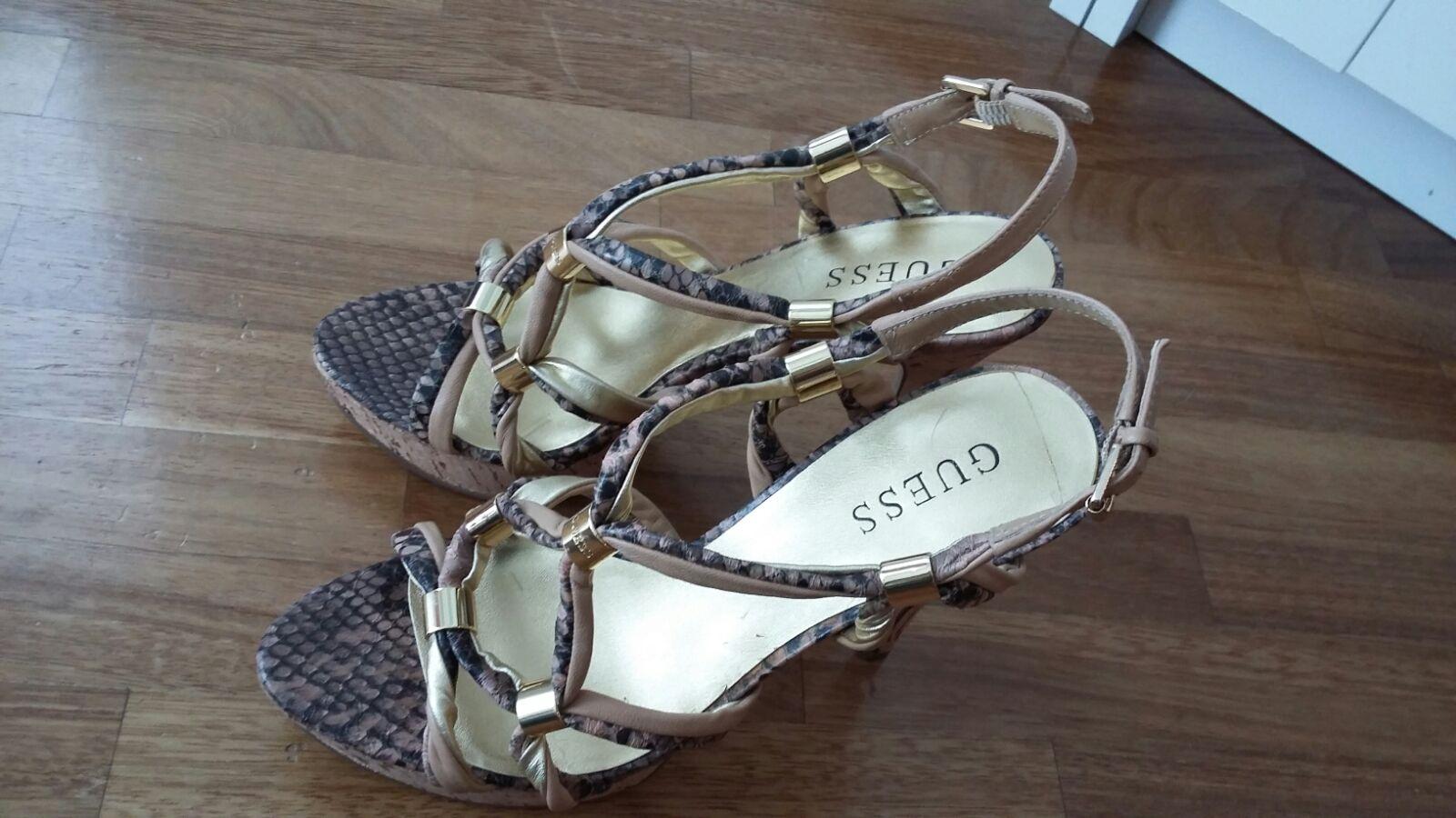 Guess sandali pitonati come nuovi