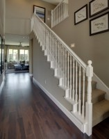 White Staircase Spindles   Stair Designs