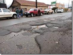 Se inician obras de reposición de pavimento en calles de Collipulli