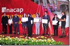 Cerca de 600 alumnos de carreras técnicas y profesionales se titularon en INACAP Temuco