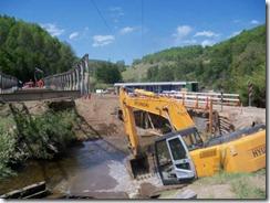 MOP inicia reposición del puente Chanleo