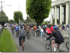 Exitosa convocatoria logró cicletada familiar de la Universidad Autónoma de Chile
