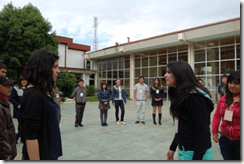 Estudiantes de tres regiones del país se reunieron en Temuco