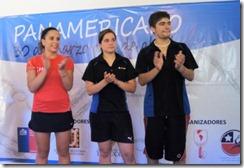 Carla Muñoz, María Paz Riquelme y Francisco Troncoso