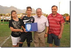 Colo Colo se enfrentó a escuela Municipal de fútbol de Pucón