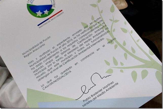 FOTO certificación ambiental municipal 2