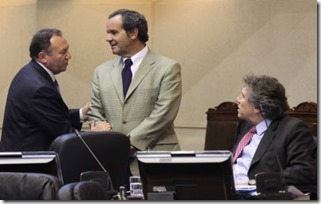 senadores rn en sala