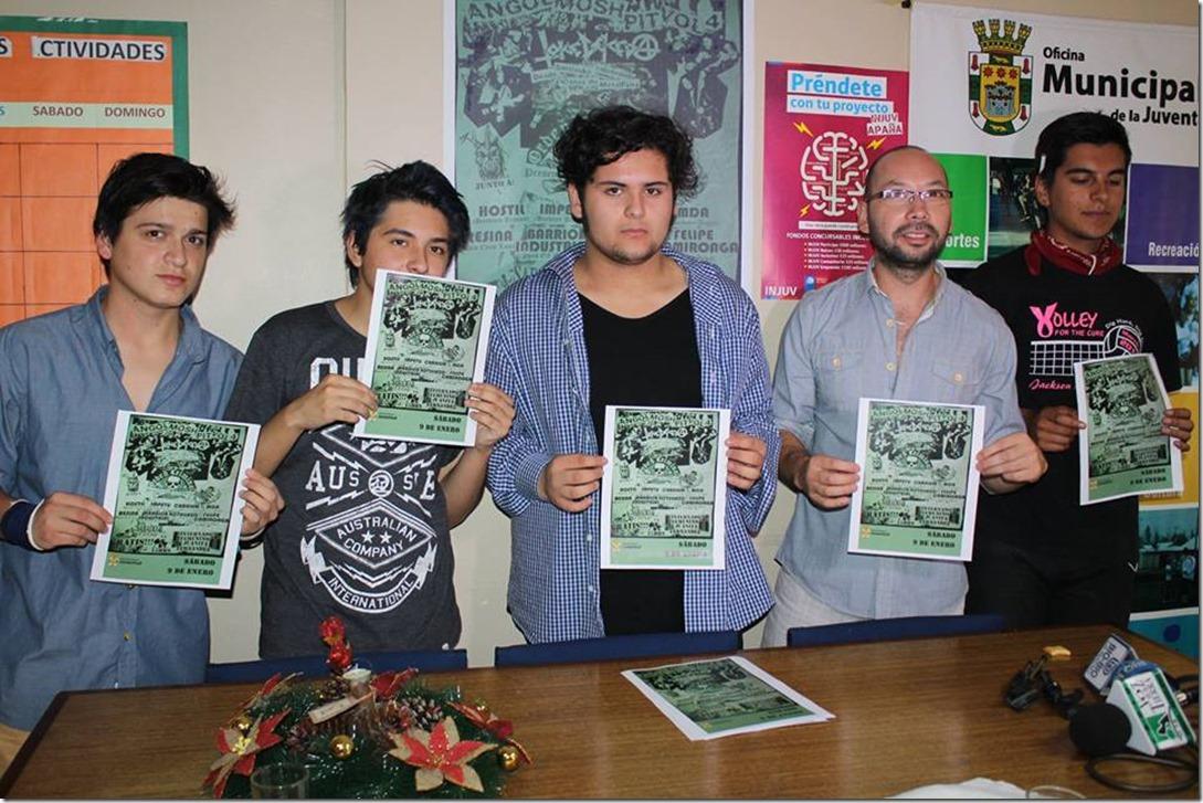 1. Tocata rock en Angol