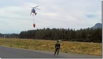 Aeródromos de La Araucanía colaborando en el combate de incendios forestales (2)