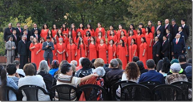 FOTO concierto coral en pucón 1