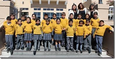 FOTO premiación alumnos los arrayanes 2