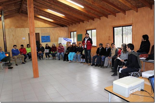 Reunión de Consulta Indígena estudio de pre factibilidad construcción conexión vial Ribera Norte Lago Villarrica (1)