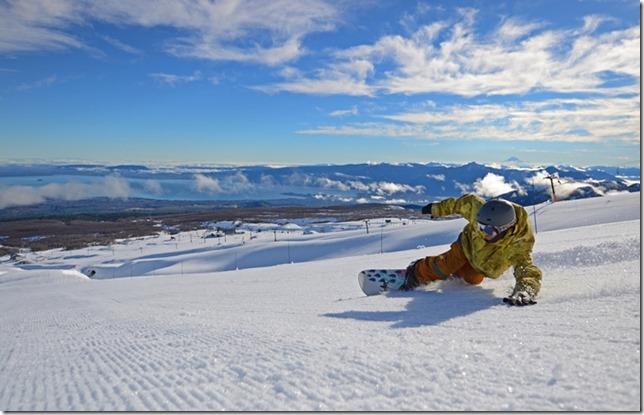 FOTO puconinos centro de ski 1