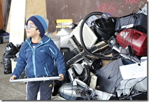 FOTO recolección campaña reciclaje 3