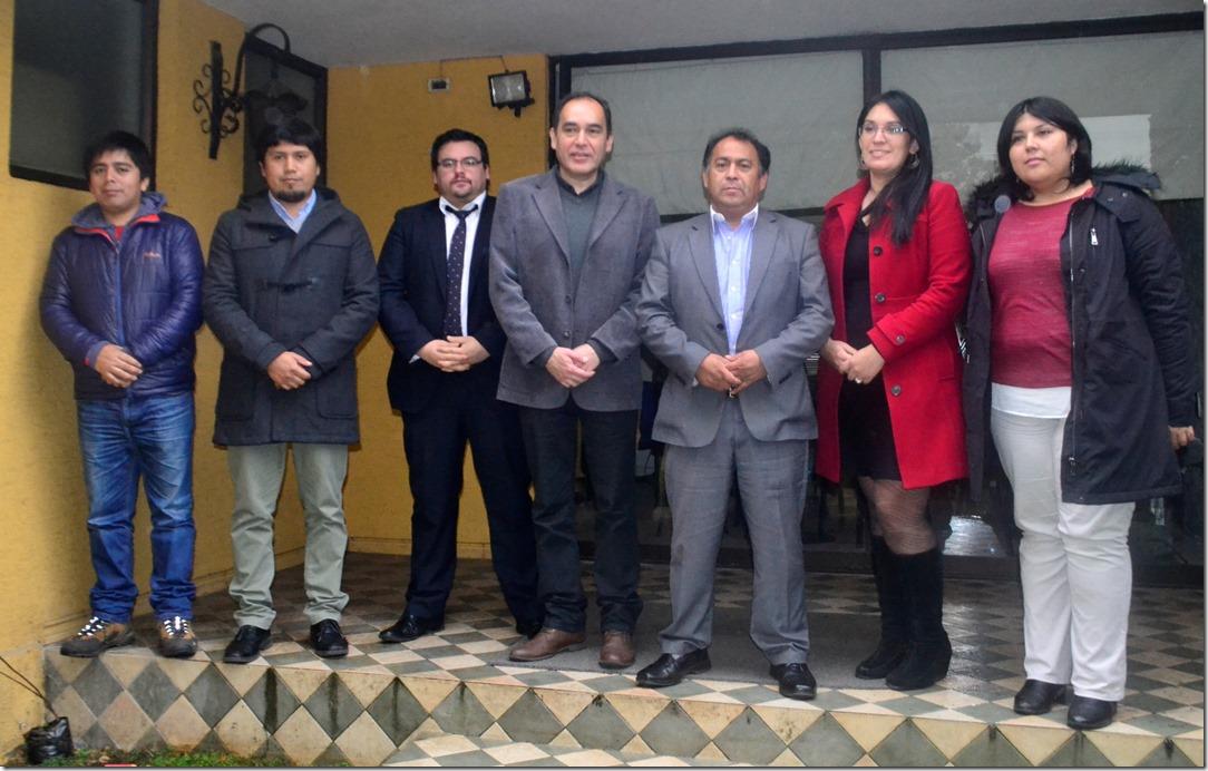 equipo CNCA y Municipalidad  Galvarino