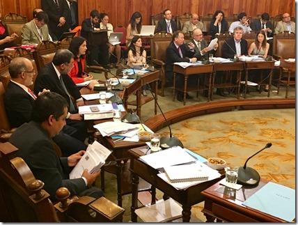 Senador Espina sesión Presupuesto 2017