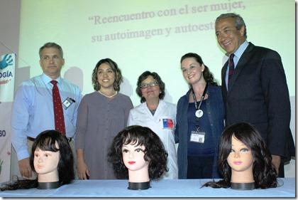 Heber Rickenberg, Evelyn Reyes, Cristina Labra, Mónica Oettinger, Emilio Guerra.