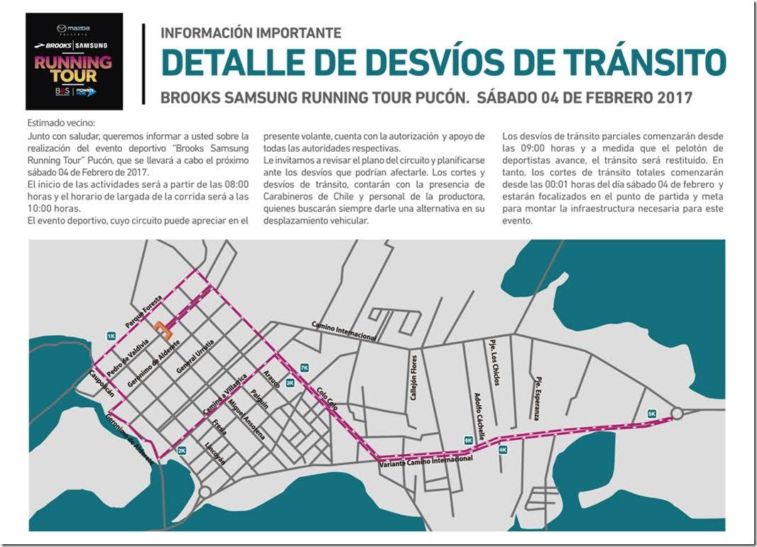 Este Sbado El Running Se Toma Las Calles De Pucn Araucana Noticias Para Circuito Ironman 703 La Ciudad Buenos Aires Desvios Transito1