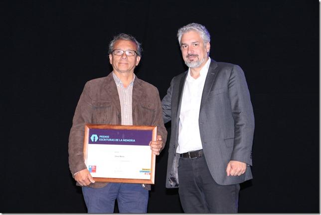 Premio Escritura de la Memoria 2016 en Temuco