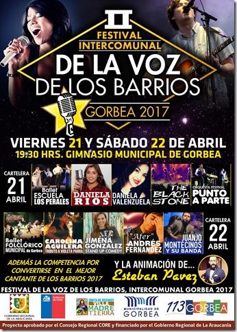 afiche barrios 2017