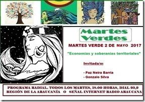Martes verde 2 de mayo