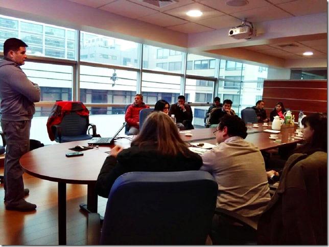Jornadas de trabajo para analizar componentes de metas institucionales en Vialidad Araucanía  (1)