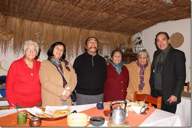 Lanzamineto THV y el Menú de Chile