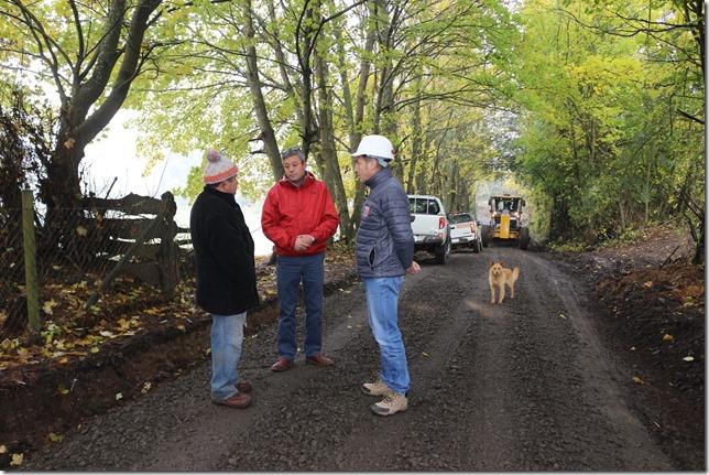 Mejoramiento de caminos en Padre las Casas-2