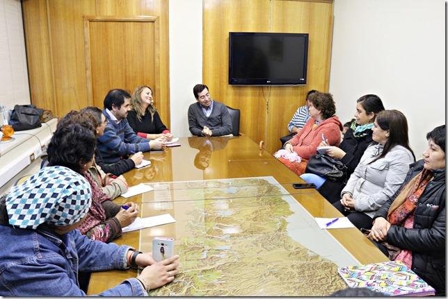 Dirigentes de sectores del camino Freire - Cunco se reunieron con Director de Vialidad (3)