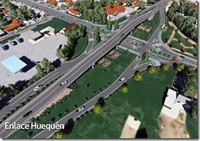 maqueta virtual Ruta-Nahuelbuta cruce huequen - angol
