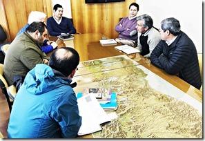 Reunión de Trabajo Director Manuel Robles y alcalde de Lautaro (4)