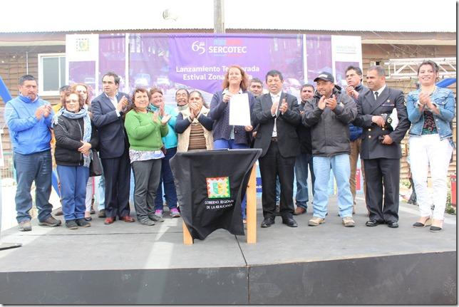 firma mensaje Puerto Saavedra