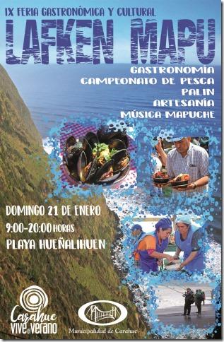 Afiche Laken mapu OFICIO