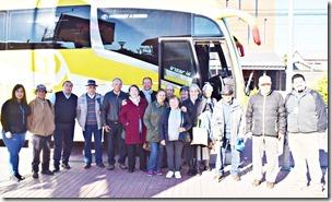 Adultos mayores de Villarrica  realizaron interesante jornada recreativa en Valdivia