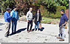 Obras de pavimentación son ejecutadas en Licán Ray (1)