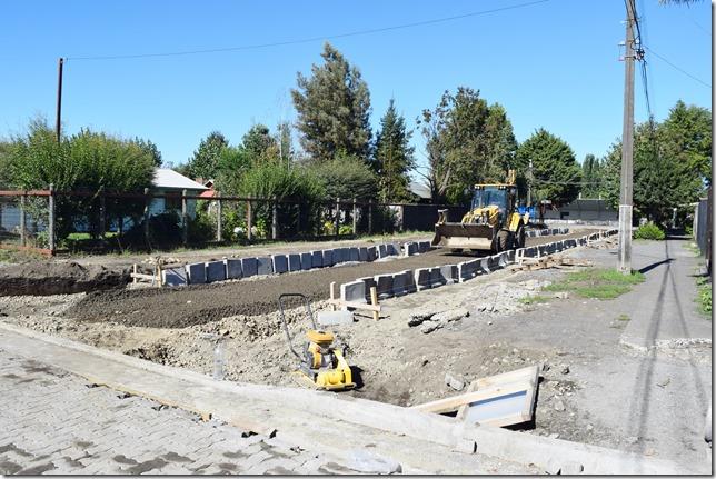 Obras de pavimentación son ejecutadas en Licán Ray (5)