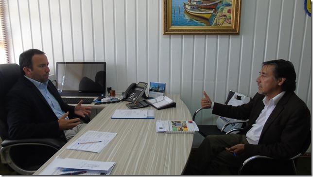 Reunión director IPS y alcalde Municipalidad de Toltén