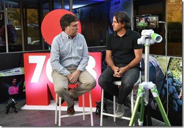 Ricardo Osorio y Alfredo Follonier